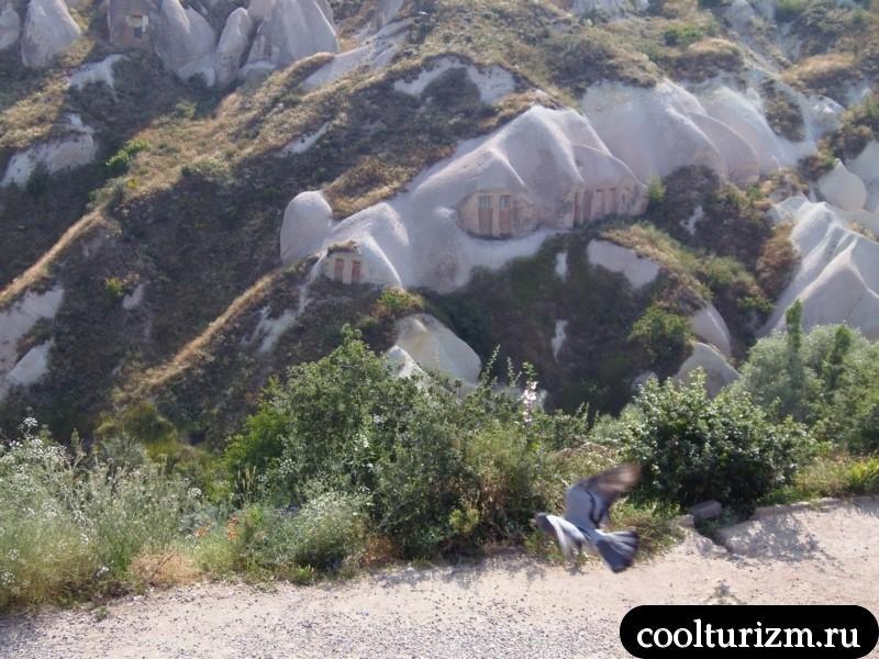 долина голубейв турции.Каппадокия