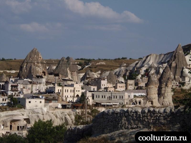 Гереме.город в скалах