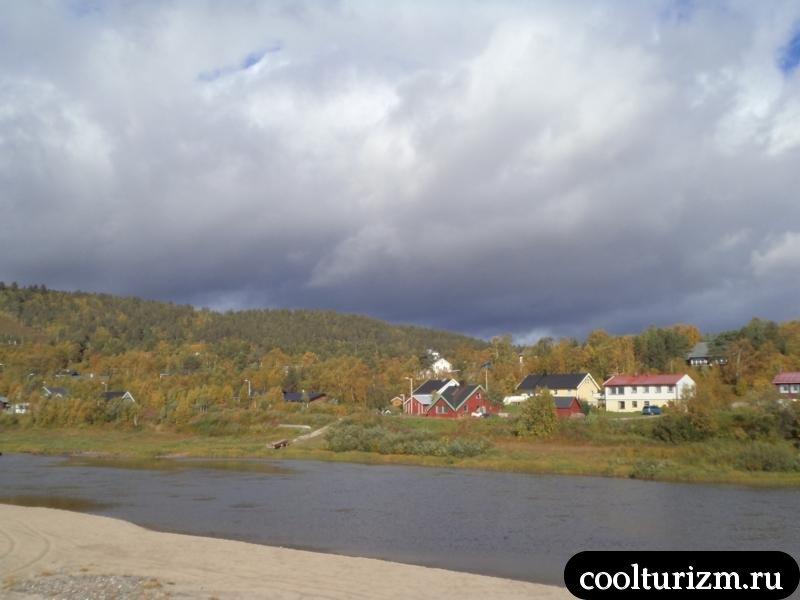 пляж в северной норвегии
