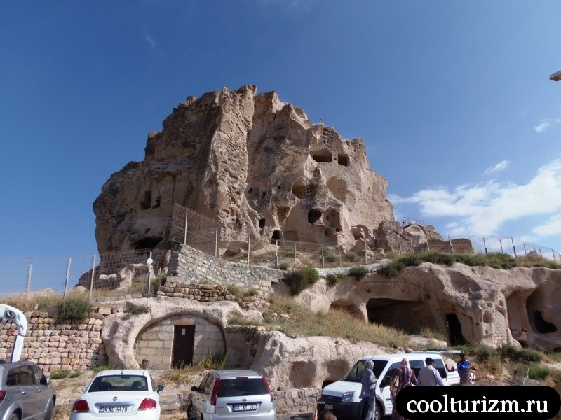 крепость Учхисар.Каппадокия.Турция