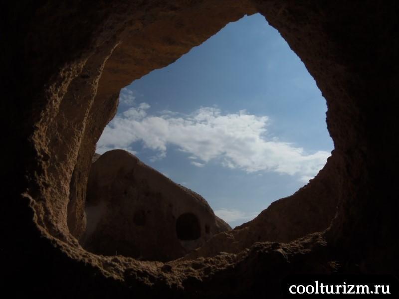 небо каппадокии из учхисара