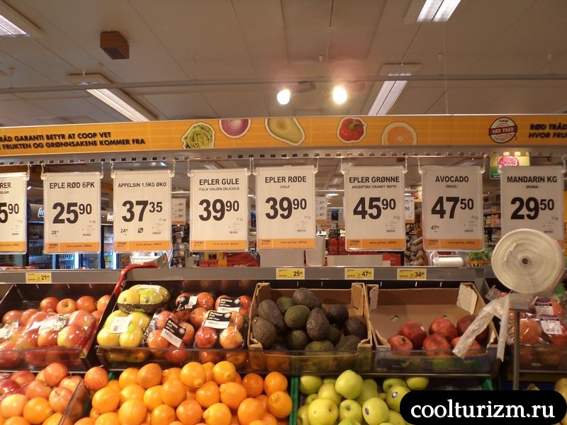 норвежский супермаркет Куп