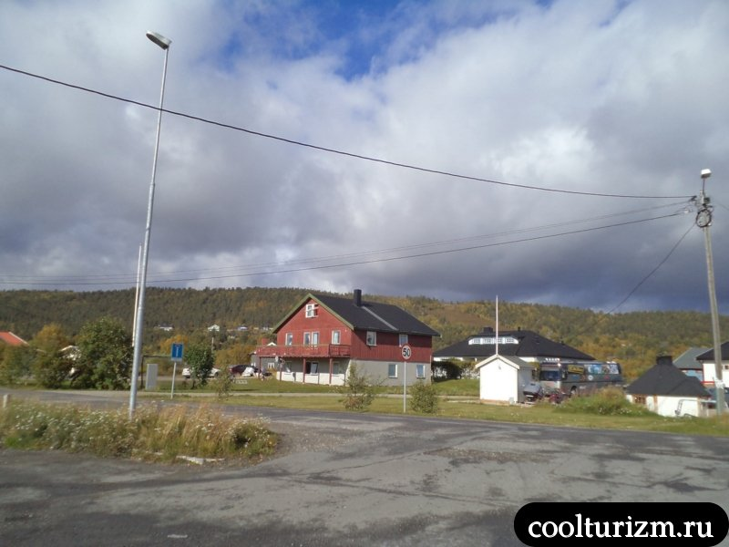 Норвегия.Карашок.дома