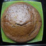Шоколадный пирог со вкусом апельсина и бананов