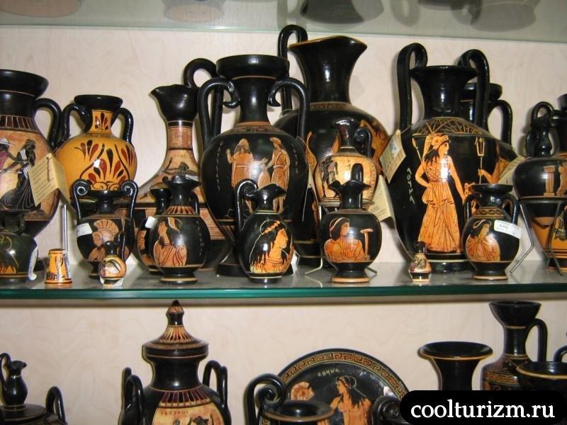 Родос.древние амформы.Греция