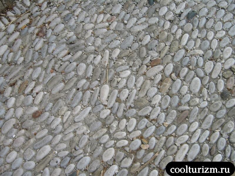 брусчатка на Родосе
