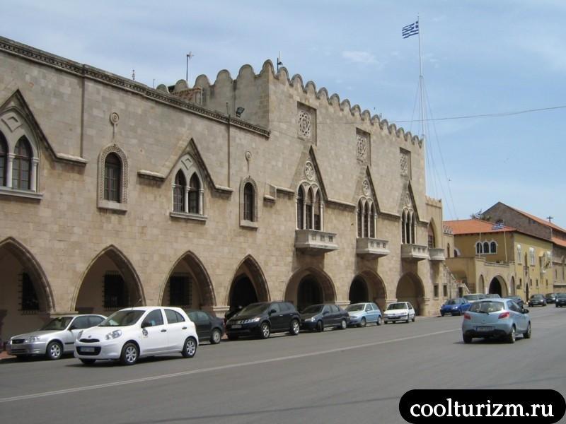 улицы современного Родоса