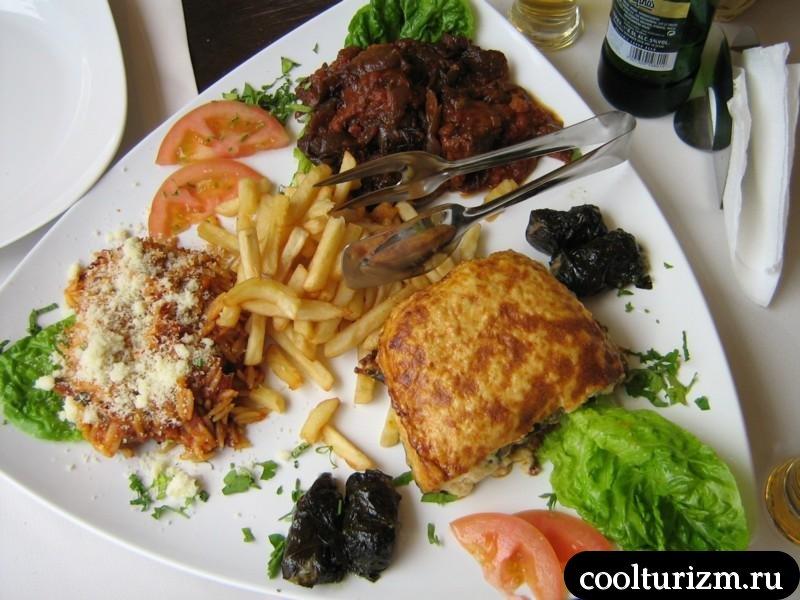 традиционная греческая кухня