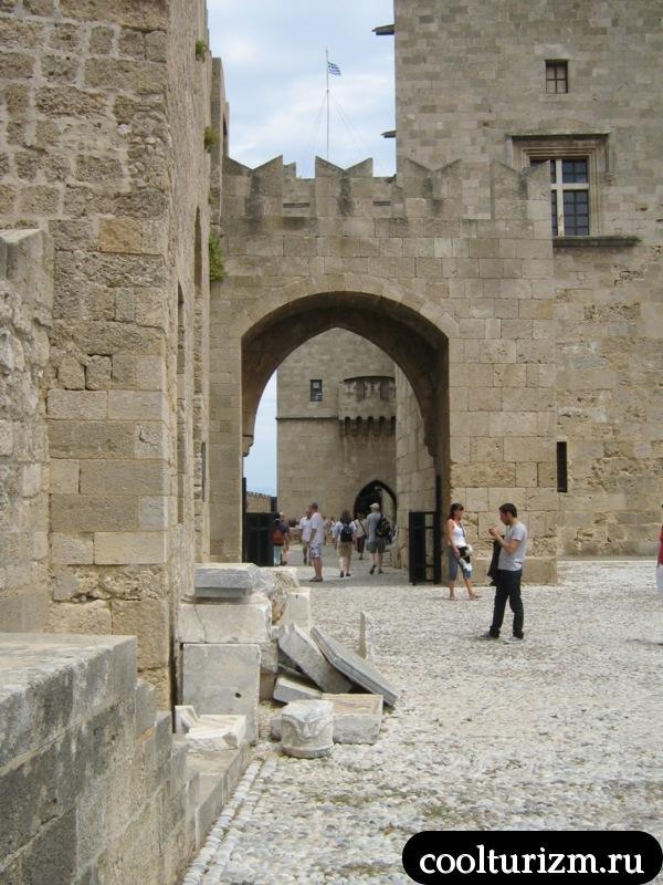 родос.крепость.дворец рыцарей