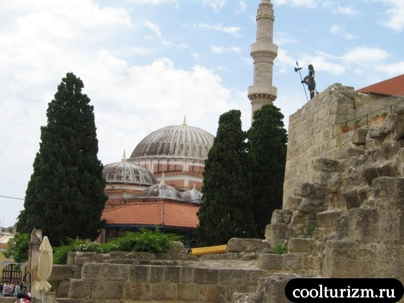 мечеть Сулеймана Великолепного.Родос