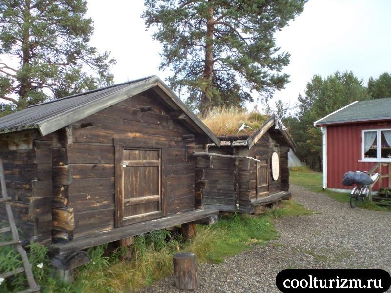Сапми парк в норвегии.саамы