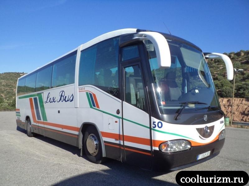 автобус в Андорру