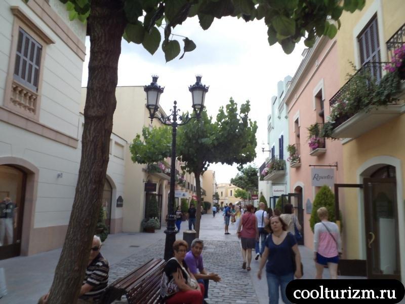 ла рока торговые улицы Испании