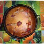 Пирог с замороженной клубникой и творогом. Вкусный манник