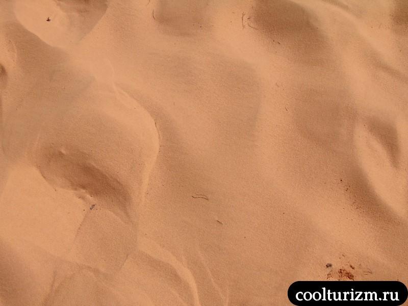 песок в Муйне ручей фей