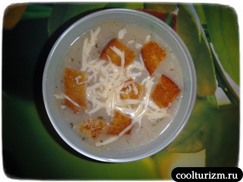подача лукового супа
