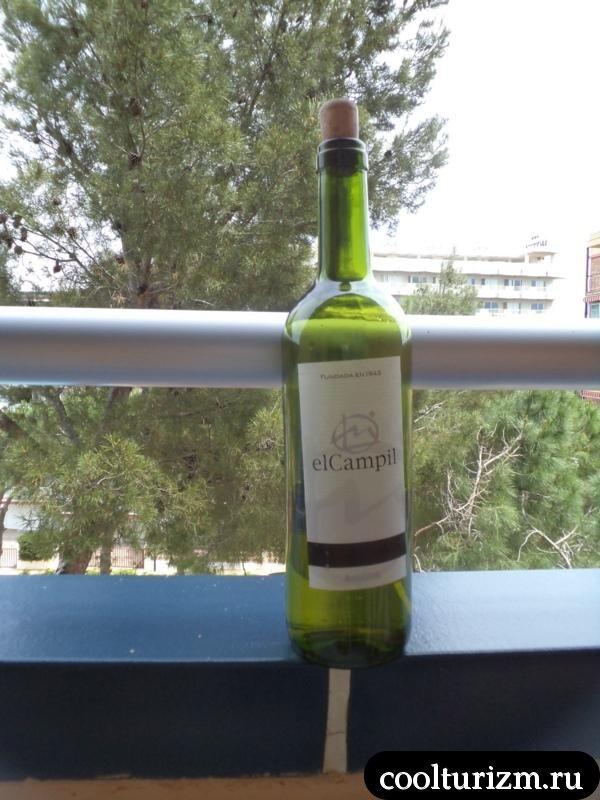вино в Испании дешевое