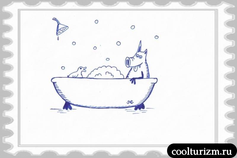 ванна это хорошо