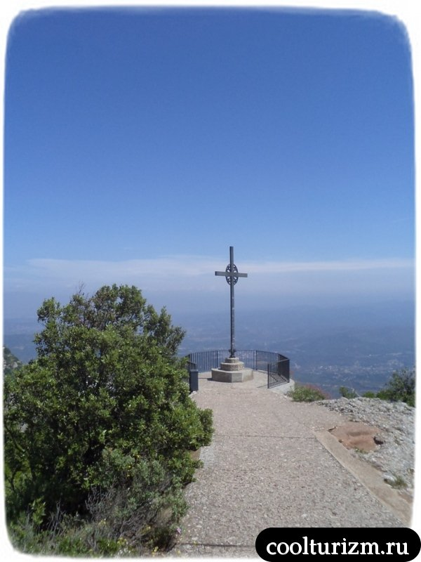 монсеррат смотровая площадка с крестом