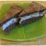 Вкусный пирог с творогом. Творог и банан.