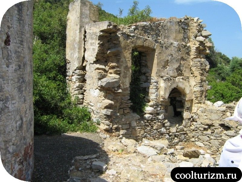 древняя хрень на острове Турция