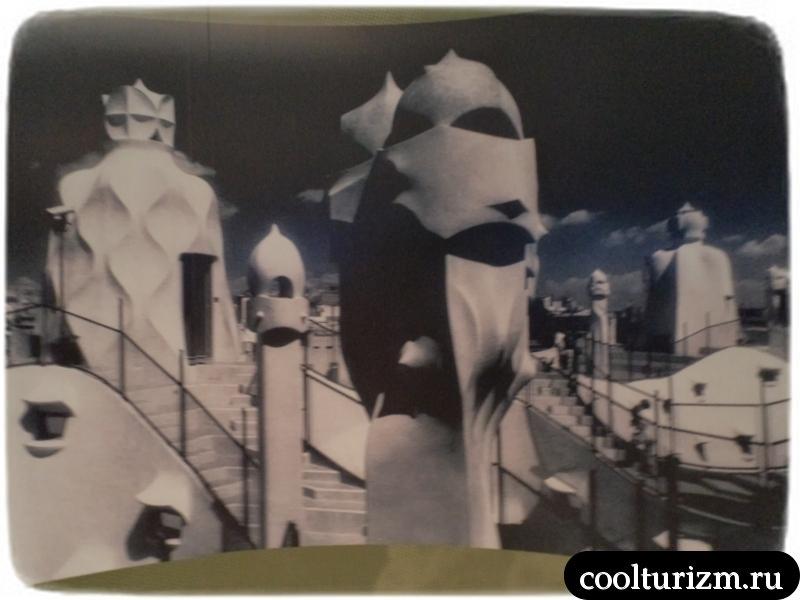 экспозиции музея Гауди