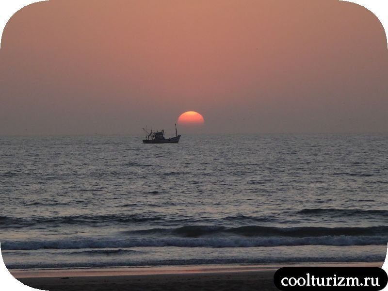 Ещё один закат в Гоа