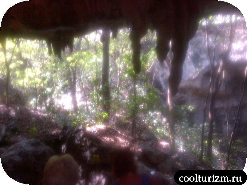 карстовая пещера Доминикана