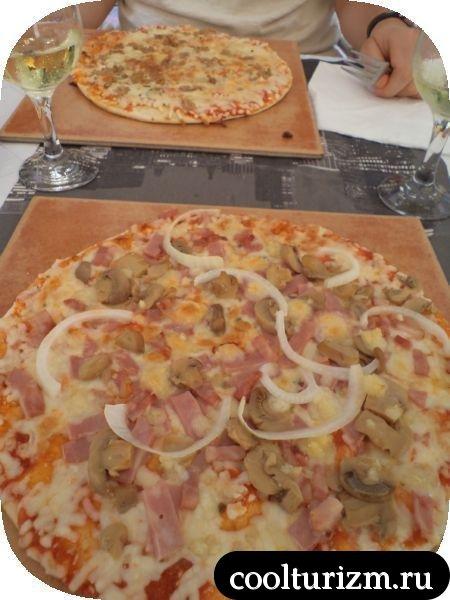 Таррагона пицца и вино Нувиана