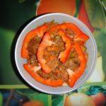 Рецепт. Говяжий фарш с замороженными овощами.