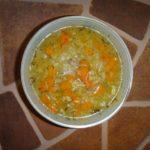 Рисовый суп с овощами. Постный суп