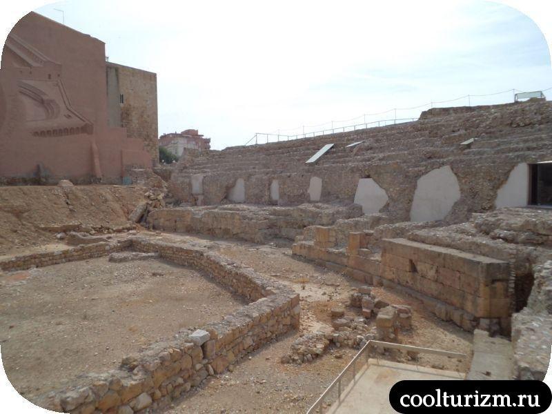 римские развалины Таррагоны Каталония