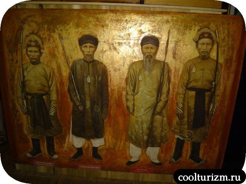 галерея шелка в Далате
