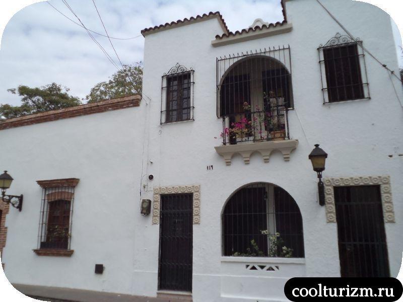 колониальная часть города Санто-Доминго
