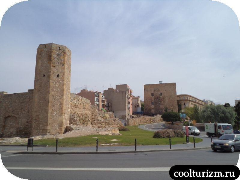 древнеримские развалины в Таррагоне