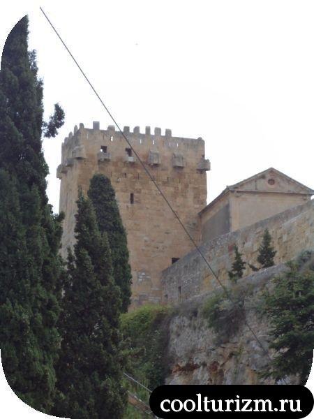 старая крепость Таррагона
