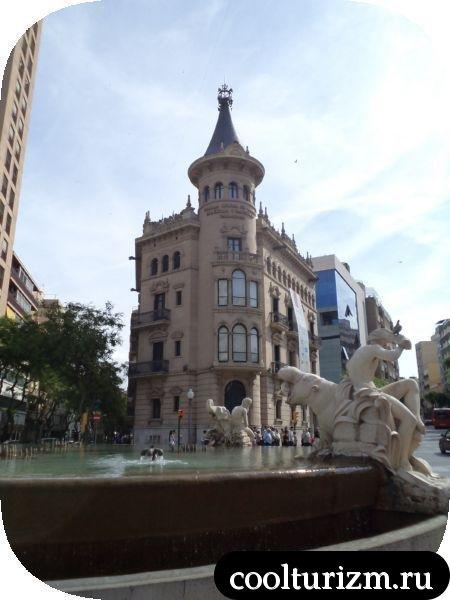 Таррагона фонтан Испания