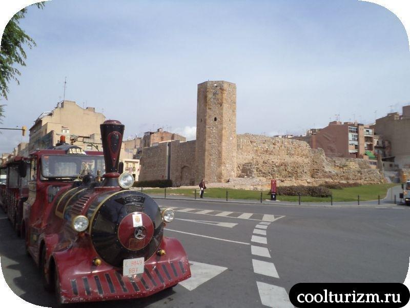 римские развалины Таррагоны Испания