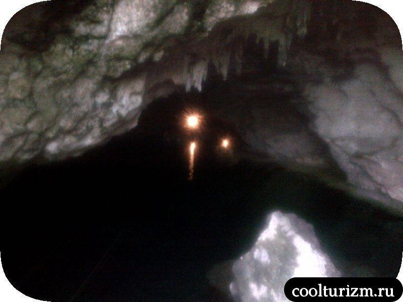 подземная пещера Доминикана
