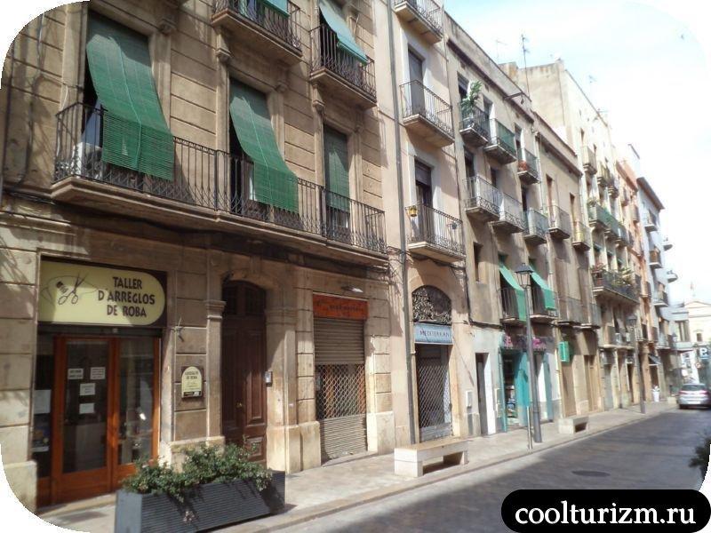улочки Таррагоны Испания
