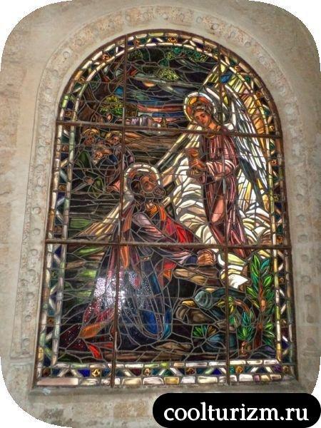 витраж собора Санто-Доминго