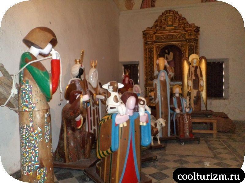 рождественская груаа в соборе Доминиканы