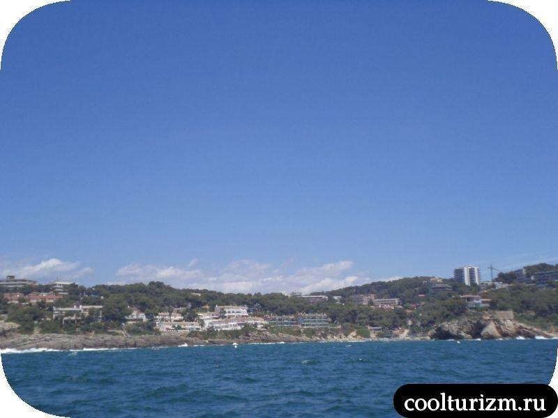 Испания прогулка по морю