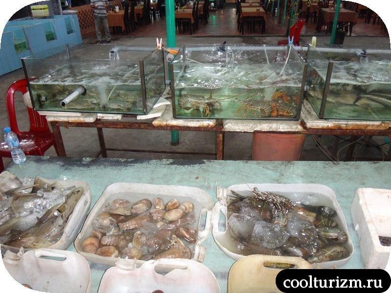 вытавка рыбы в боке Вьетнам
