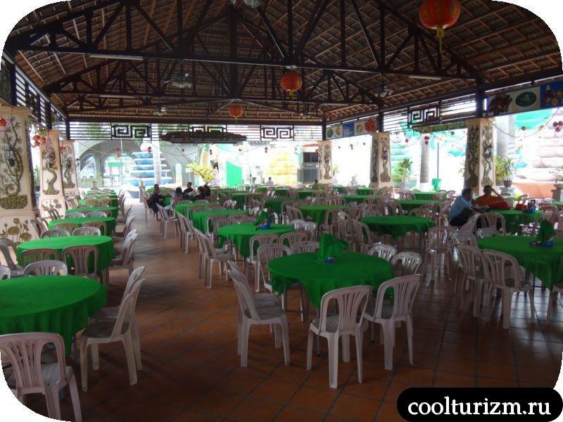 пустая столовка вьетнам