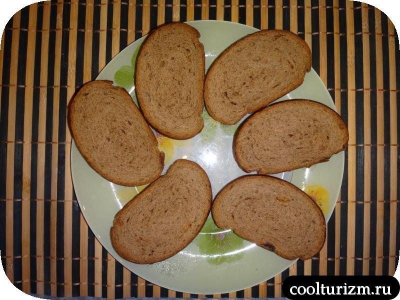 подготовка хлеба для бутербродов сморреброд сморброд шморроброд