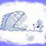 рыба и свинни