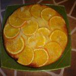 Апельсиновый пирог в духовке.