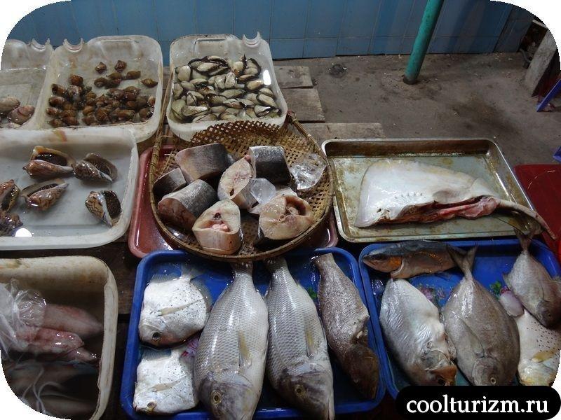 вьетнам Муйне рыба боке выбор