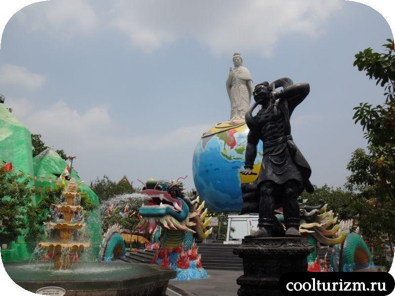 парк вьетнам памятники